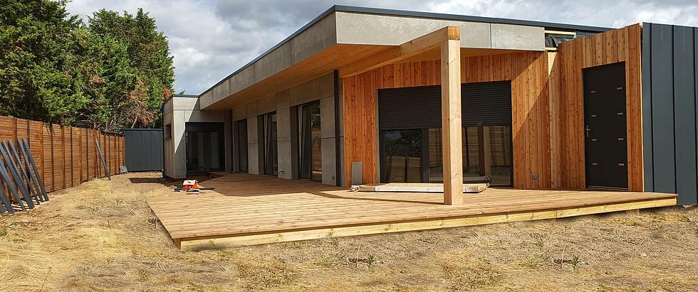 Maison ossature bois APconstruction Yzeu