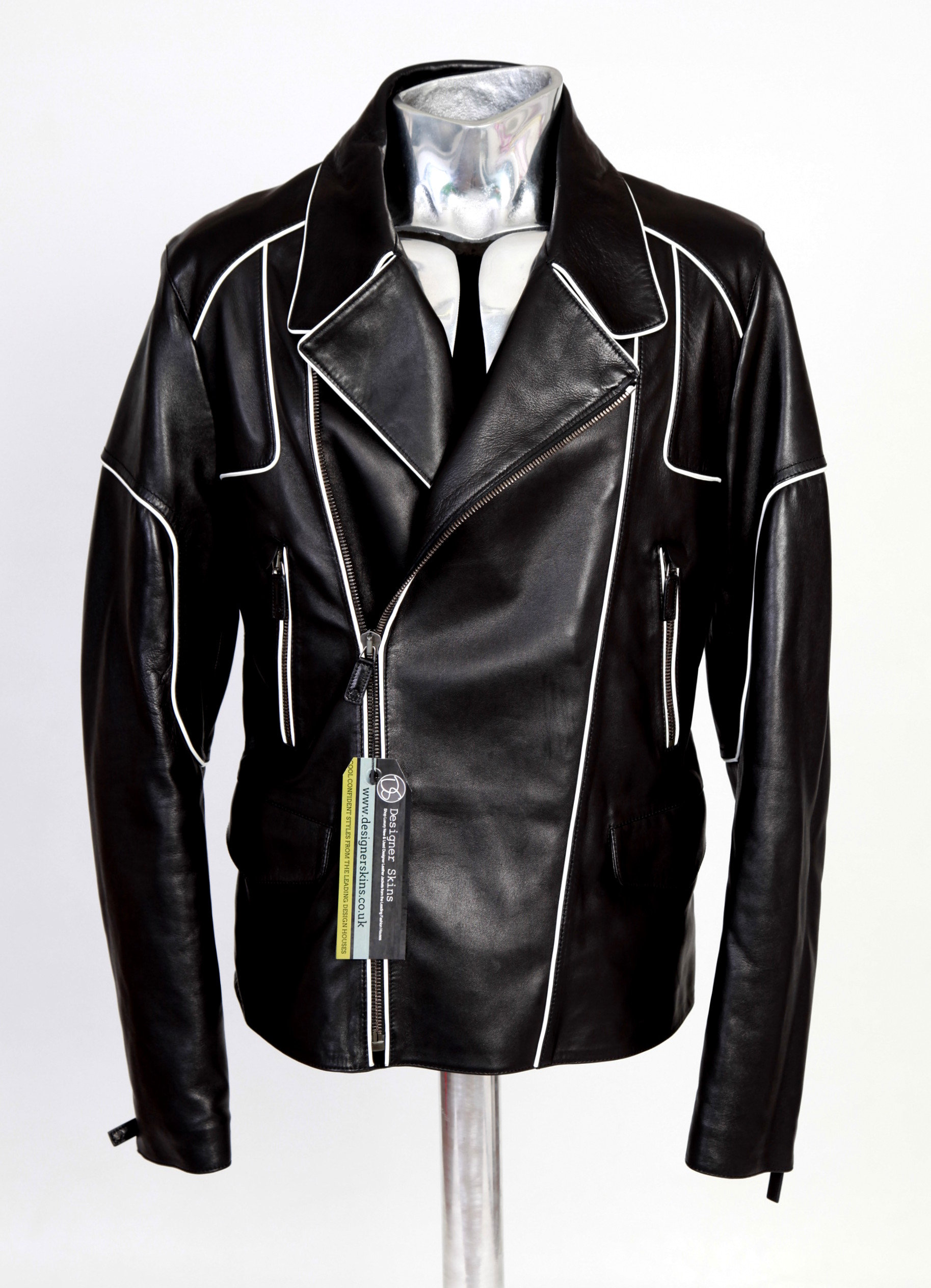 6dde378b61831 Shop Luxury New & Used Designer Leather Jackets from the Leading Fashion  Houses
