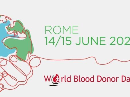 Giornata Mondiale del donatore di sangue - Roma, 2021