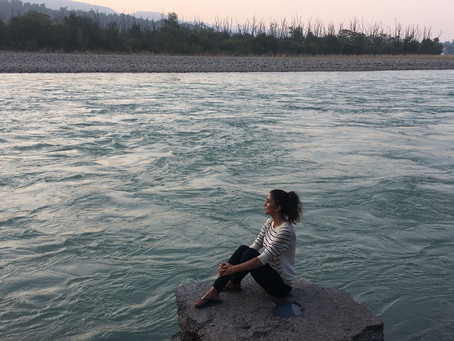 Sitting on the banks of the Himalayas