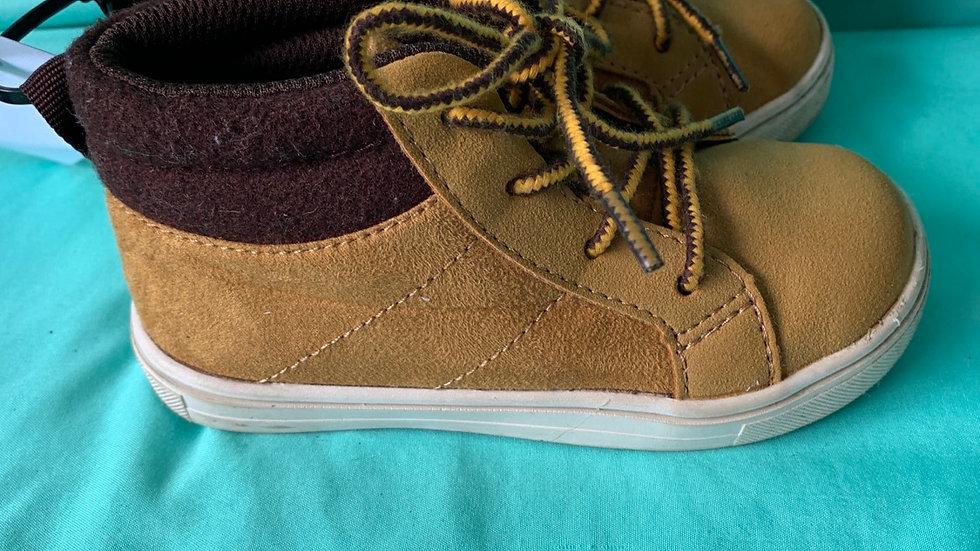Little kid size 8, Carter's tan boots