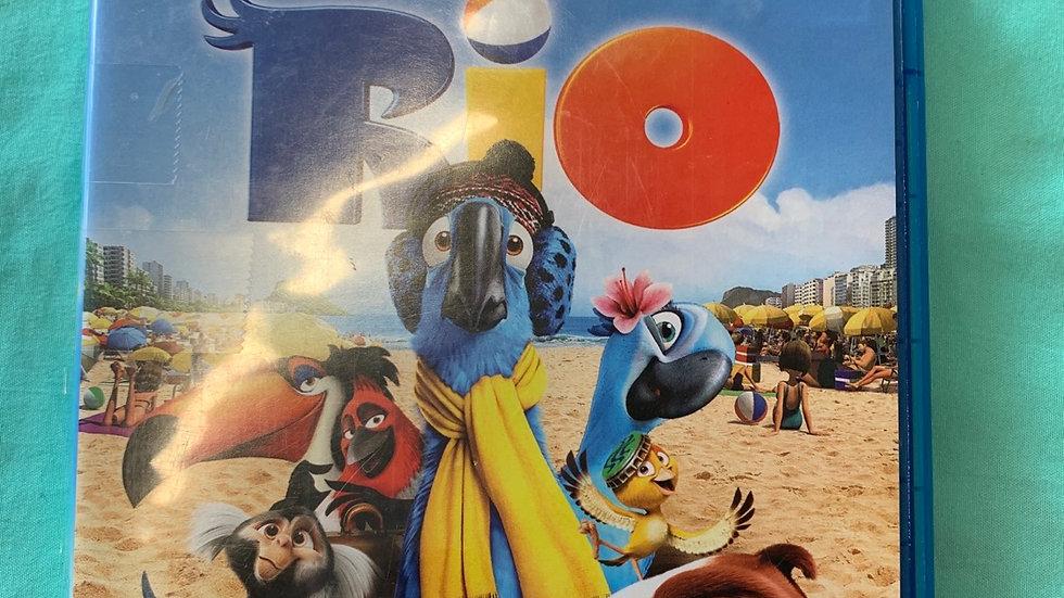 Rio Blu-ray, DVD, digital copy