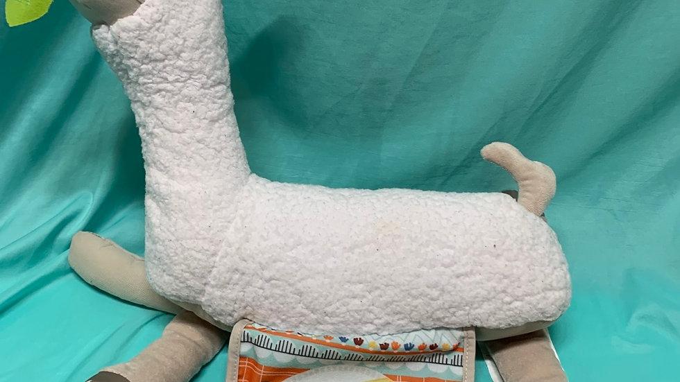 Fisher-Price llama rattle stuffed animal
