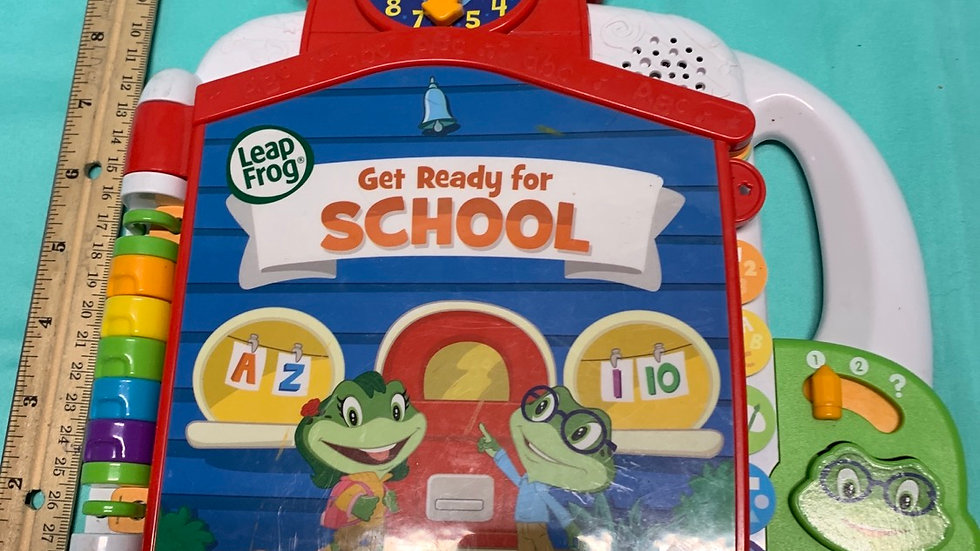 Leapfrog getting ready for school talking book
