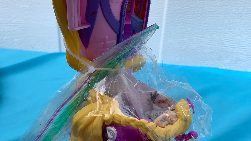 Disney tangled Rapunzel in tower