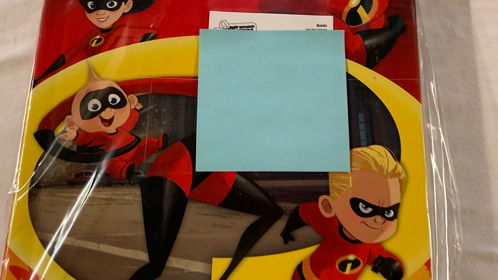 Busy book Incredibles commerce 93