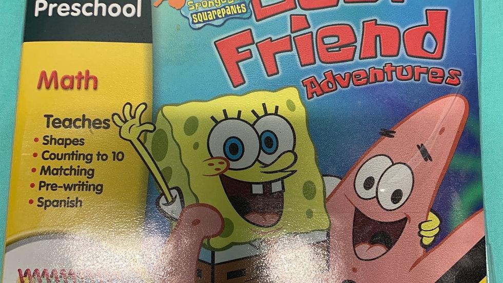 My first leap pad SpongeBob SquarePants