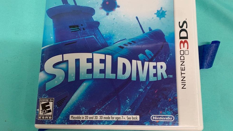 Nintendo DS steel diver game
