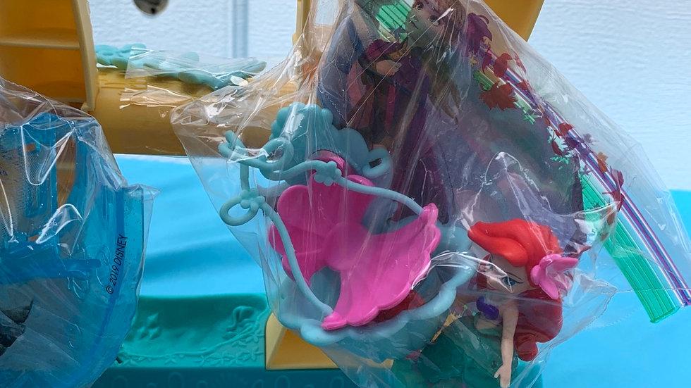 Disney princess Ariel castle with accessories