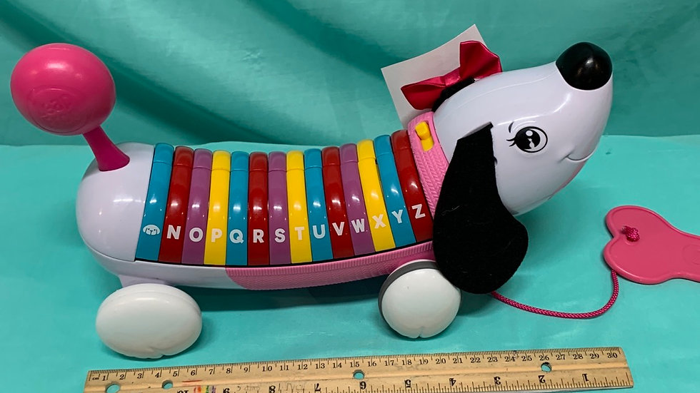 Leapfrog alphabet dog pink