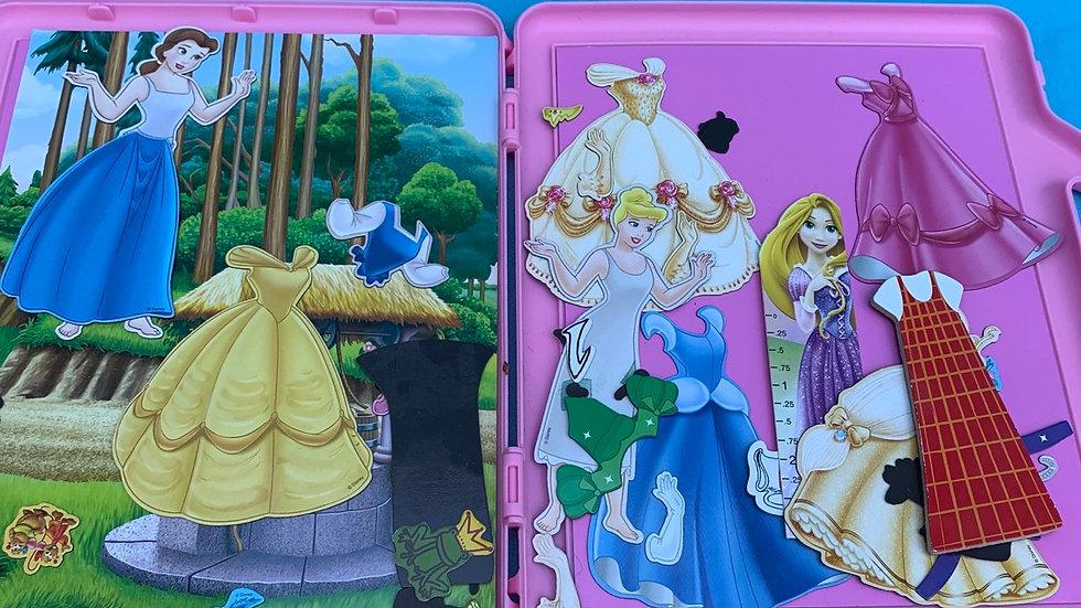Disney magnet playset
