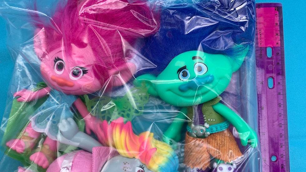 Disney trolls set