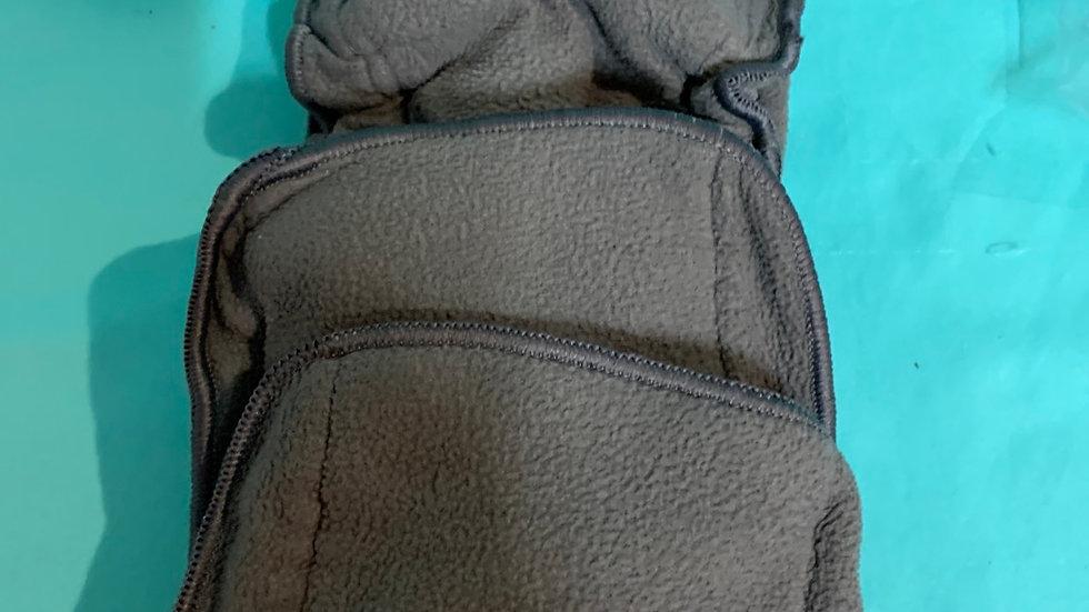 2 cloth diaper inserts grey