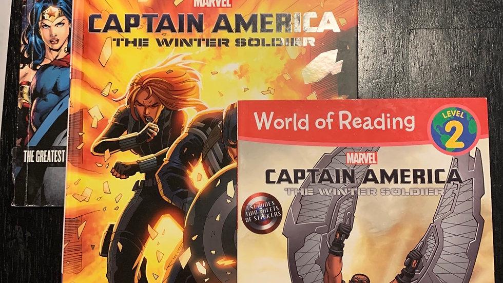 Marvel books, 14