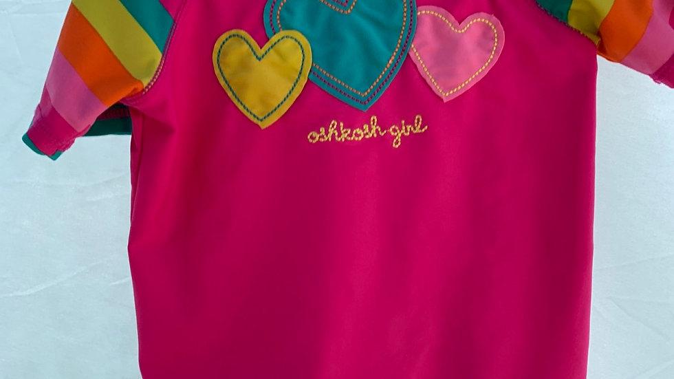Size 5, swim shirt