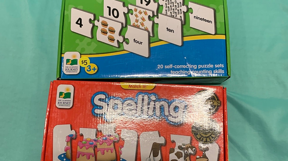 Matching game, match it numbers