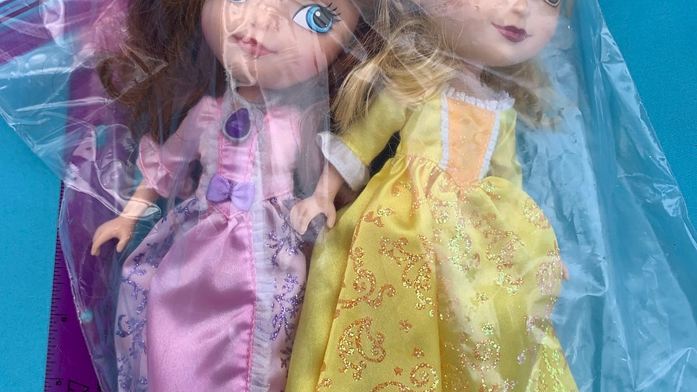 Sofia the first two pack dolls
