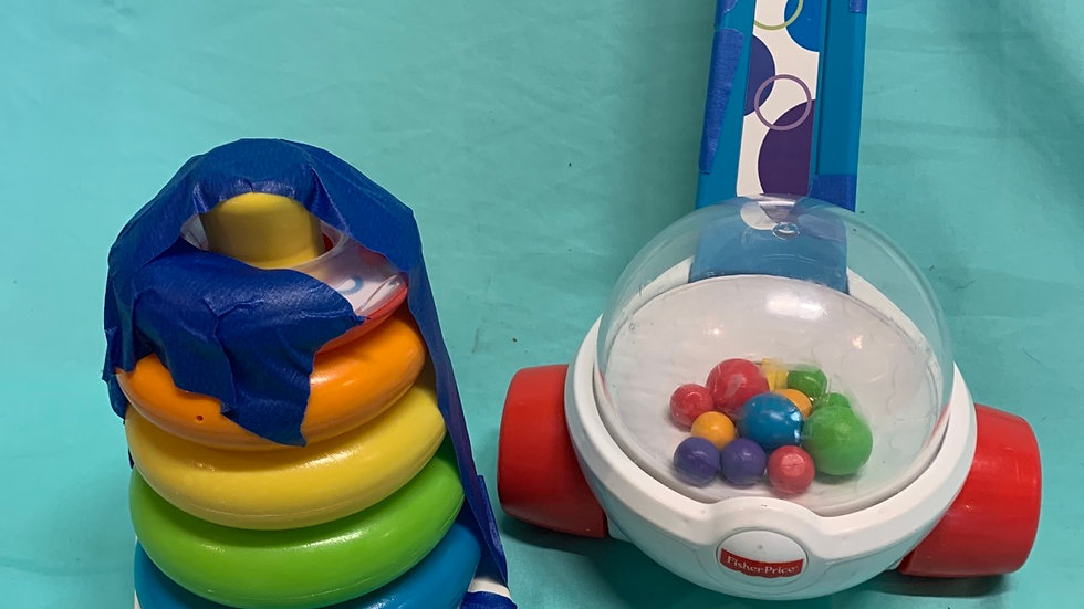 Fisher price stacking, Fisher-Price popper