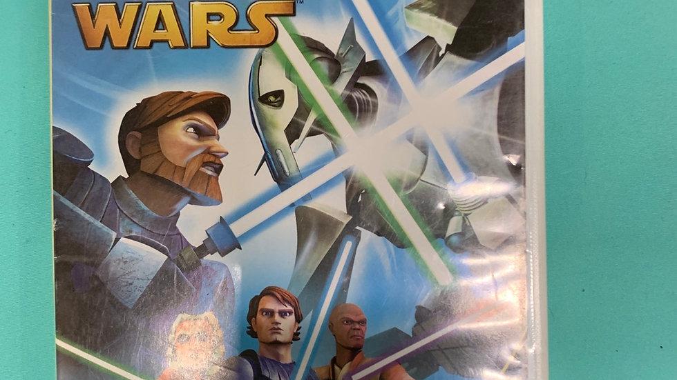Wii Star Wars the clone wars