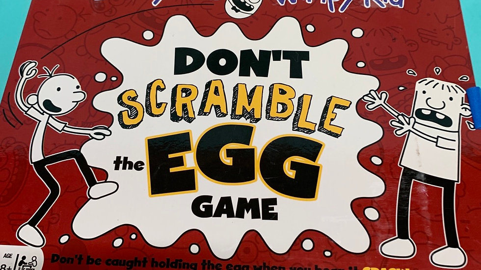Don't scramble the egg diary of a wimpy kid board game
