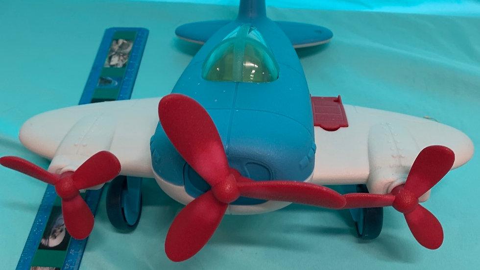 Wonder wheels airplane red blue gray
