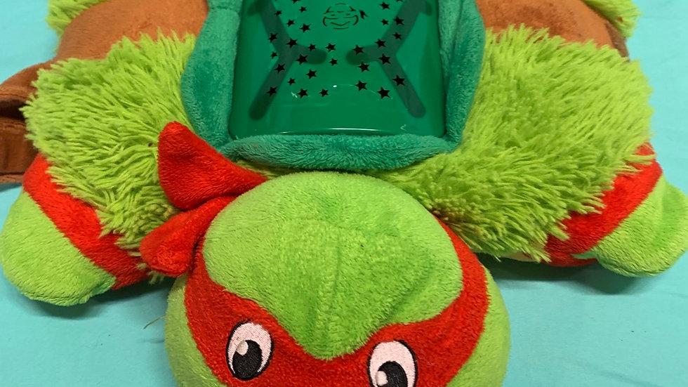 Ninja turtle pillow pet Raphael
