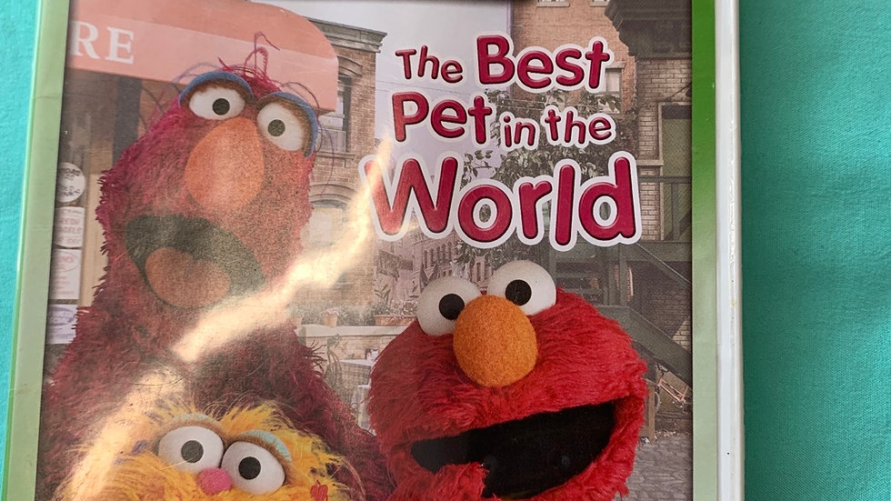 Elmo the best Pet in the world DVD