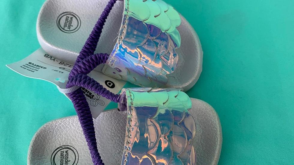 Little kid size 3, mermaid sandal