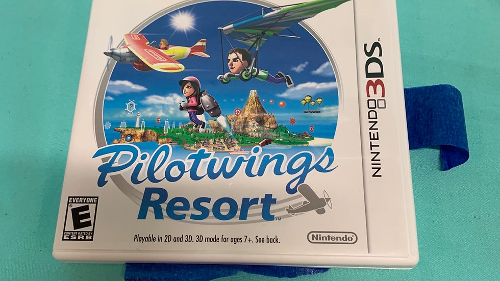 Nintendo DS pilot wings resort game