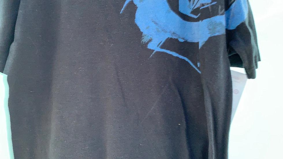Size 6, black volcom shirt