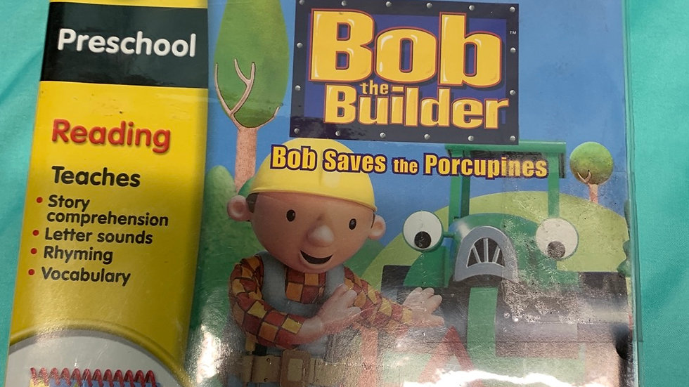 My first leap pad Bob the builder