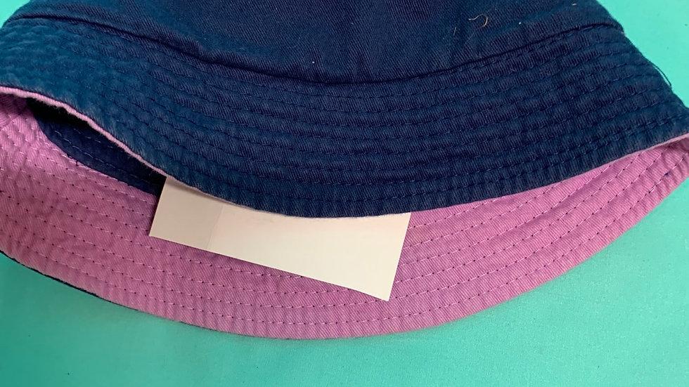 Sun hat size 4, six blue purple