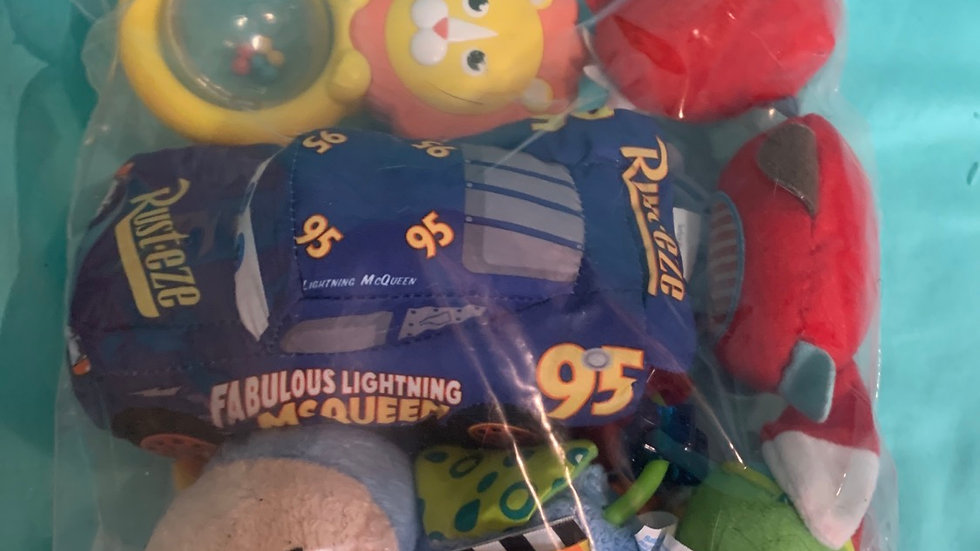 Infant toys with cars