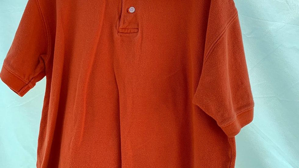 Size 7-8, orange polo gap