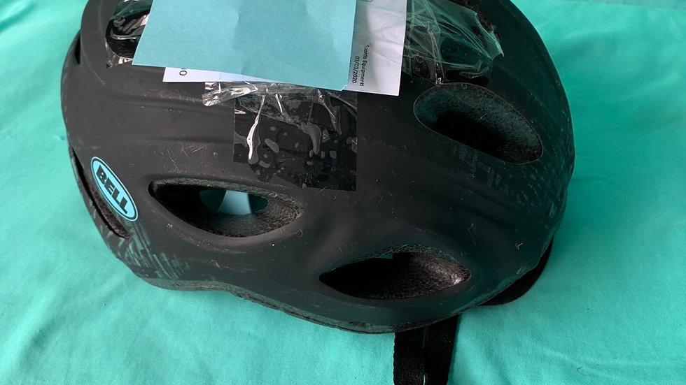 Black bell bike helmet head size 52 to 58 cm
