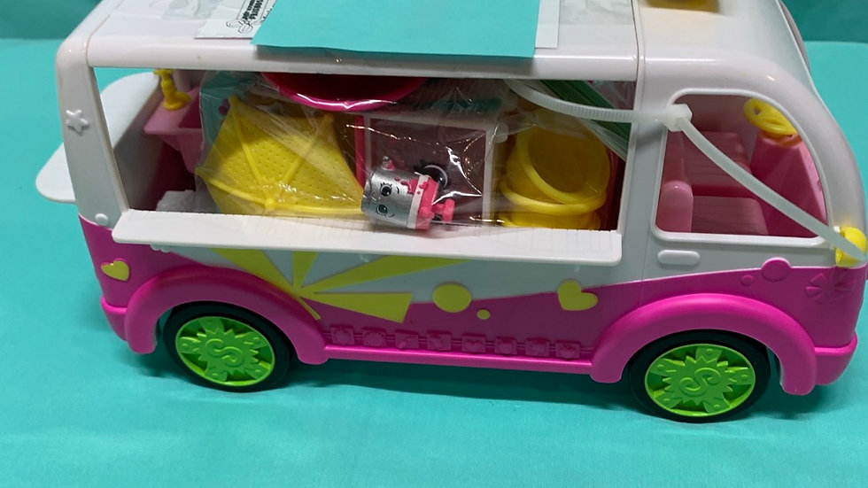 Shop kins ice cream truck with accessories