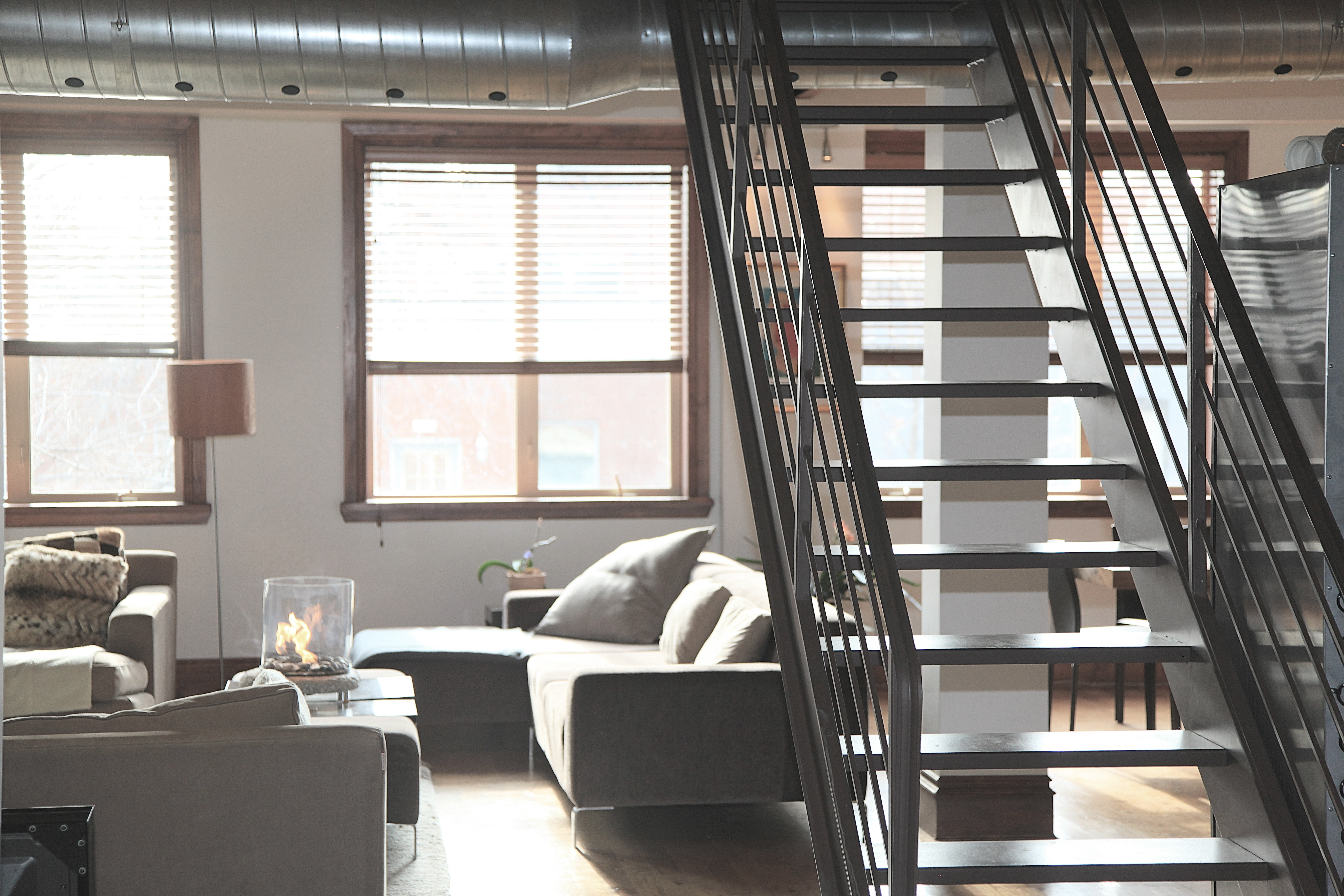 Treppe in Loft