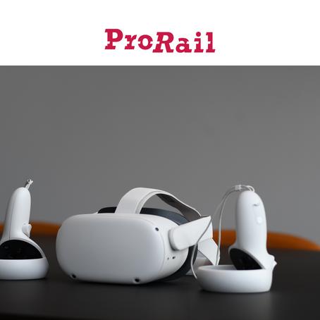 Ervaring met VR: Karin van Helmond van ProRail