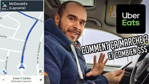 J'ai livré pour Uber Eats pendant 11h