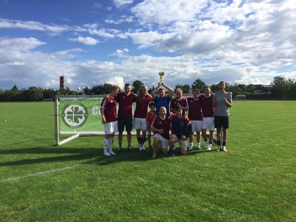 Copenhagen Vikings Winners of the Celtic Cup 2017