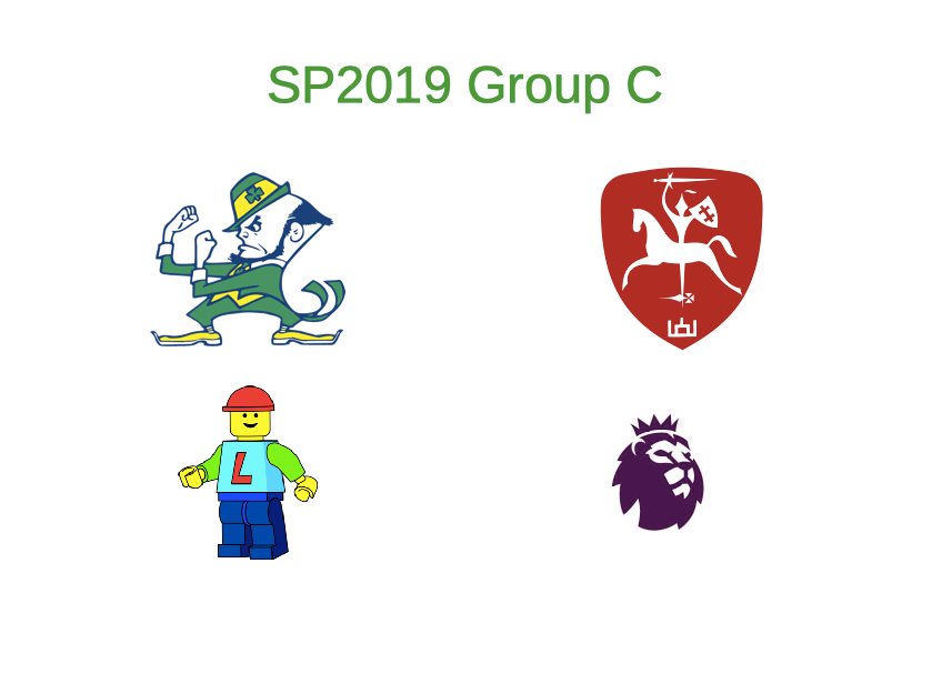 Group C: Ireland; LT United; Denmark; England