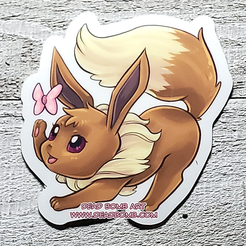 Eevee Vinyl Sticker