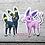 Thumbnail: Eeevelution Vinyl Stickers - Set of 9