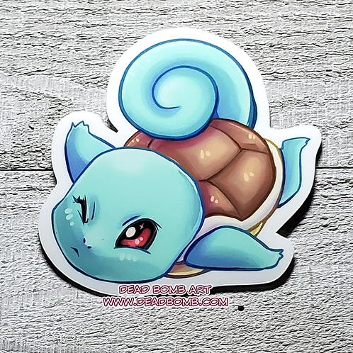 Squirtle Vinyl Sticker