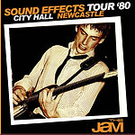 The Jam 28/10/80 - City Hall, Newcastle