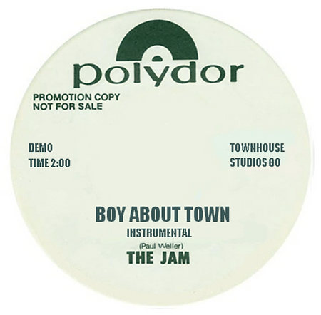 The Jam Boy ABout Town Demos
