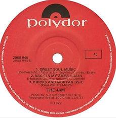 The Jam Australian Release