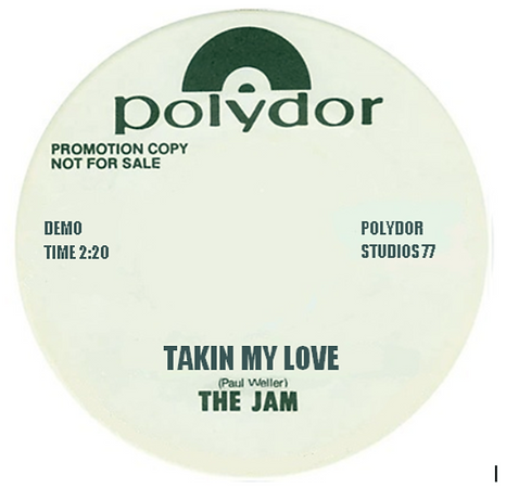 The Jam In The City / Takin My Love Demos