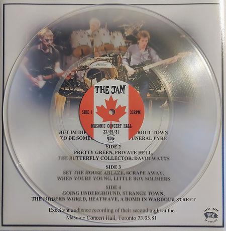 The Jam Live Canada 23/05/81