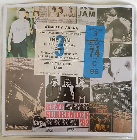 The Jam Live at Wembley - Beat Surrender / In The City